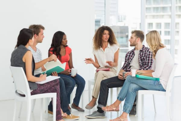 Group Therapy Session in Milwaukee - American Behavioral Clinics