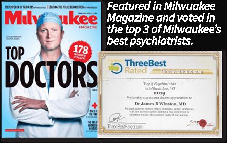 Dr James Winston - Top Milwaukee Psychiatrist